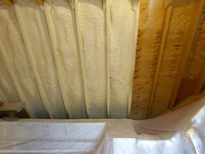 Spray Foam Insulation Installed In Vestal