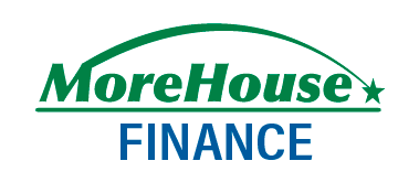Financing available from MoreHouse Finance Company